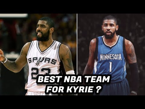 Top 4 NBA Trade Scenarios for Kyrie Irving!