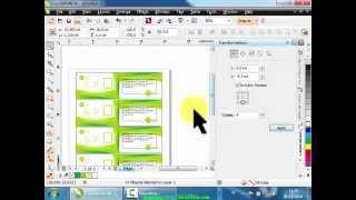 Proses Print Merge ID Card di CorelDraw