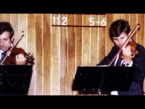 I am surrounded by His care (John W. Peterson) violin trio 1979