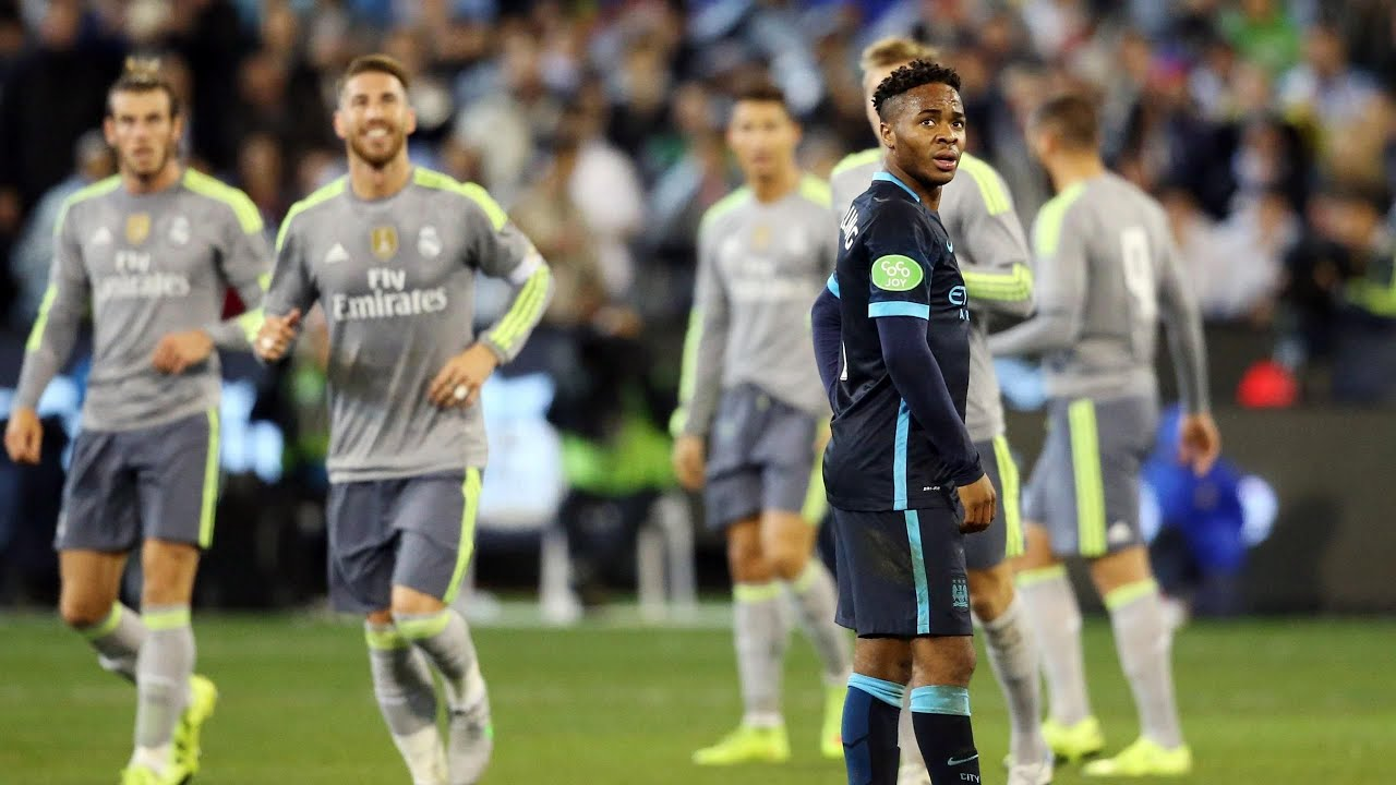 Real Madrid Vs Manchester City 4 1 Goals 24 07 2015 Youtube