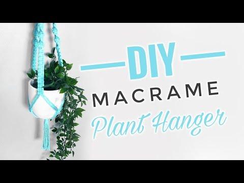 diy-macrame-plant-hanger-|-beginner-plant-hanger