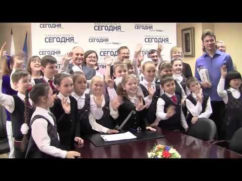 """В рамках проекта """"Открой свой космос"""" дети посетили редакции"""