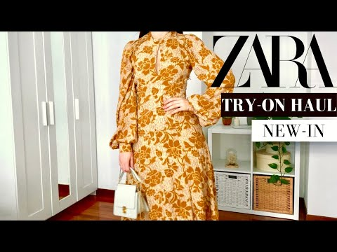 ZARA HAUL ESTATE 2021 | TRY ON HAUL CON IDEE OUTFIT