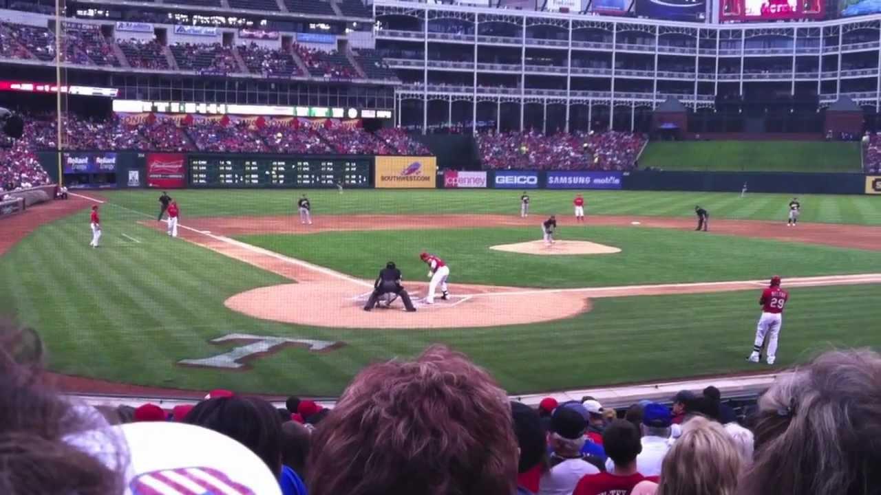 Mitch Moreland Grand Slam Texas Rangers - YouTube