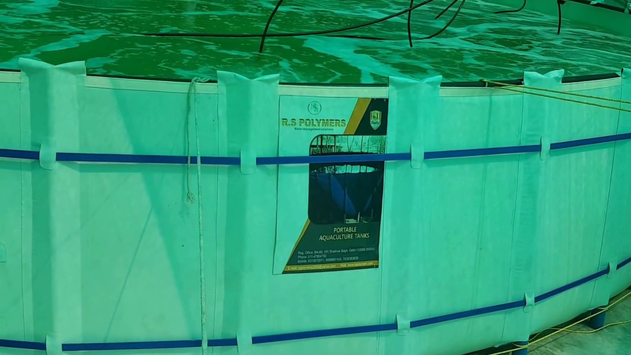 R S polymers aquaculture tanks