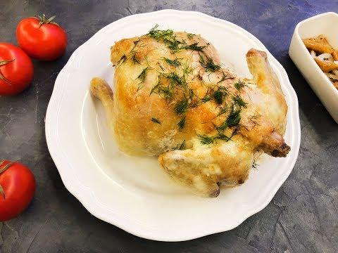 Курица под майонезом в духовке - рецепт быстрого приготовления