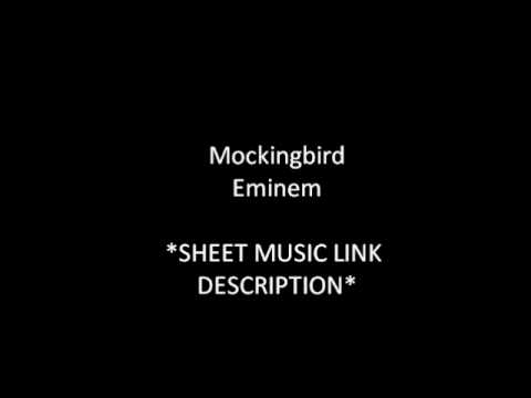Mockingbird Piano Sheet Music Link In Description