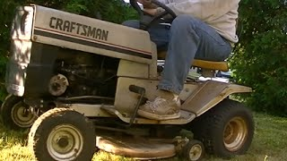 The free Craftsman tractor rebuild (lets actually cut some grass)