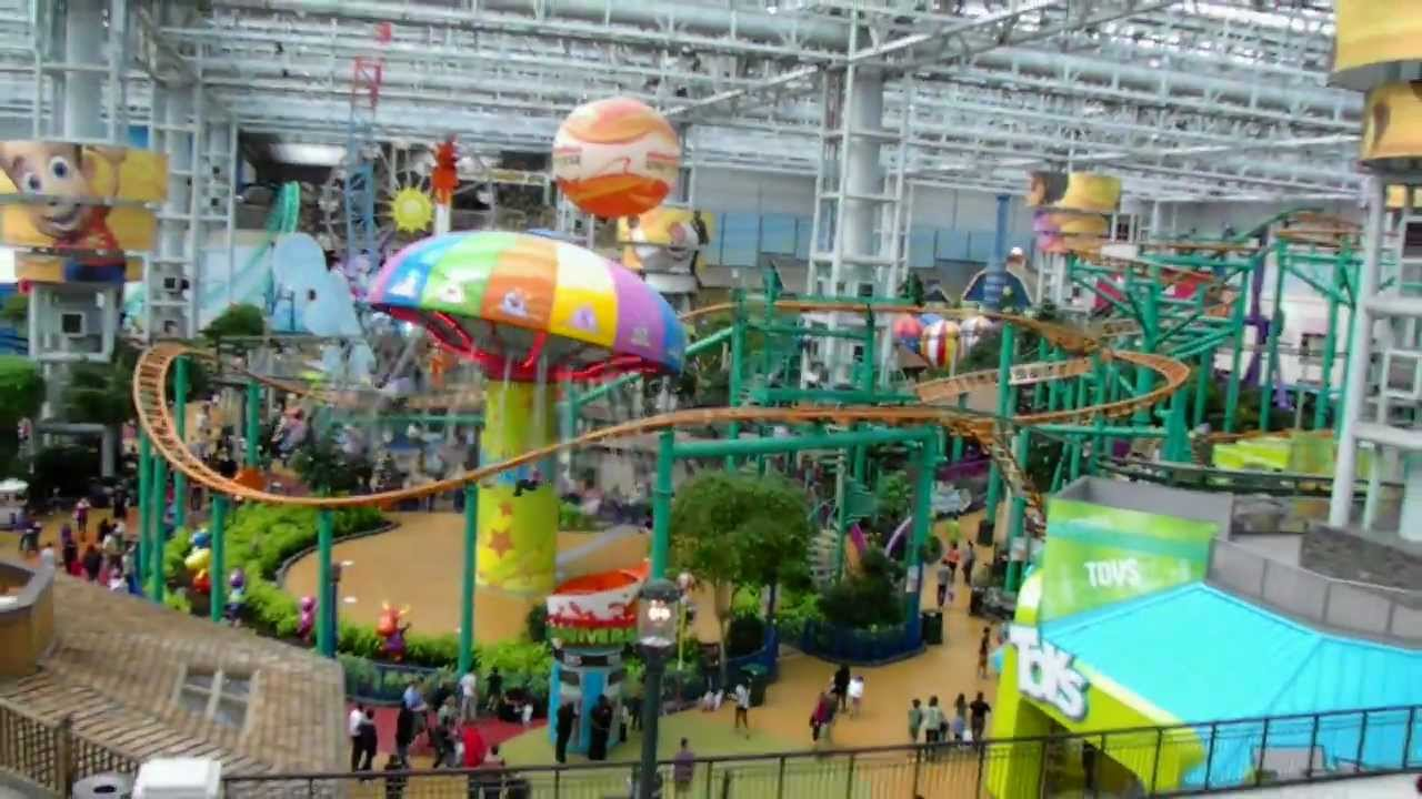 Shit now I want to go to mall of America to buy stuff ride stuff ...