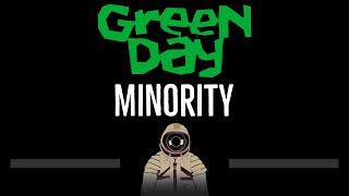 Green Day • Minority (CC) (Remastered Video) 🎤 [Karaoke] [Instrumental Lyrics]