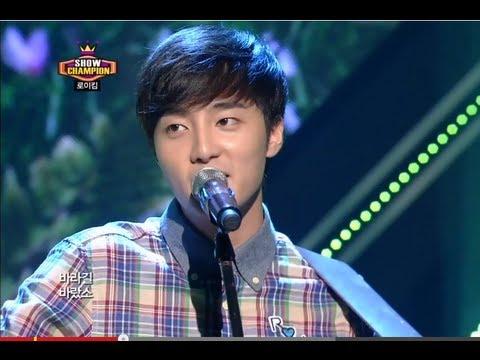 Roy Kim - Love Love Love, 로이킴 - 러브러브러브 Show Champion  20130717