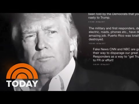 Donald Trump Blames 'Poor Leadership,' 'Fake News' After Criticism Of Puerto Rico Response | TODAY