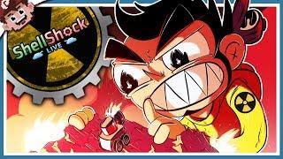TURN 1 MEGA NUKE CRITICAL STRIKE VICTORY!! (Shellshock Live w/ Friends)