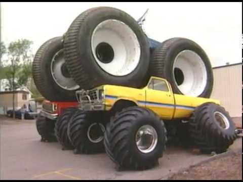 Monster Truck Tires >> 10 Ft Firestone Tire 2 Monster Truck Crush Bigfoot 4x4 Inc Youtube