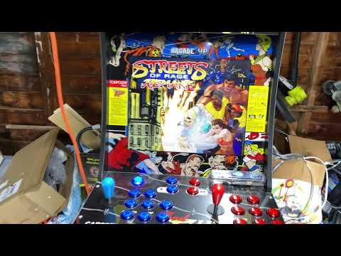 Arcade1up Final Fight PC Mod. from Retro Lizard's Custom Arcades