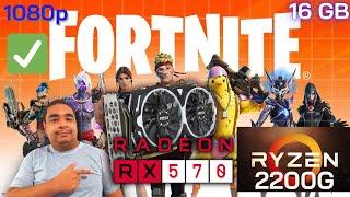 RX 570 Fortnite Chapter 2 - Season 4  - 1080p Epic Settings (2020)