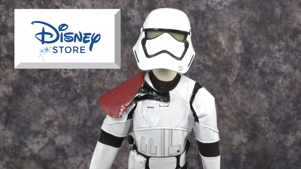 & Stormtrooper Force Awakens Costume from The Disney Store - YouTube