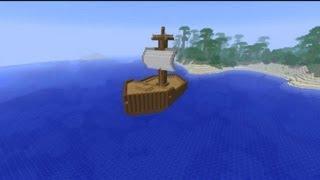 Minecraft 1.3.2 สร้างเรือ