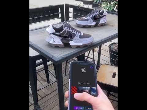 AR supported Gamer Sneakers