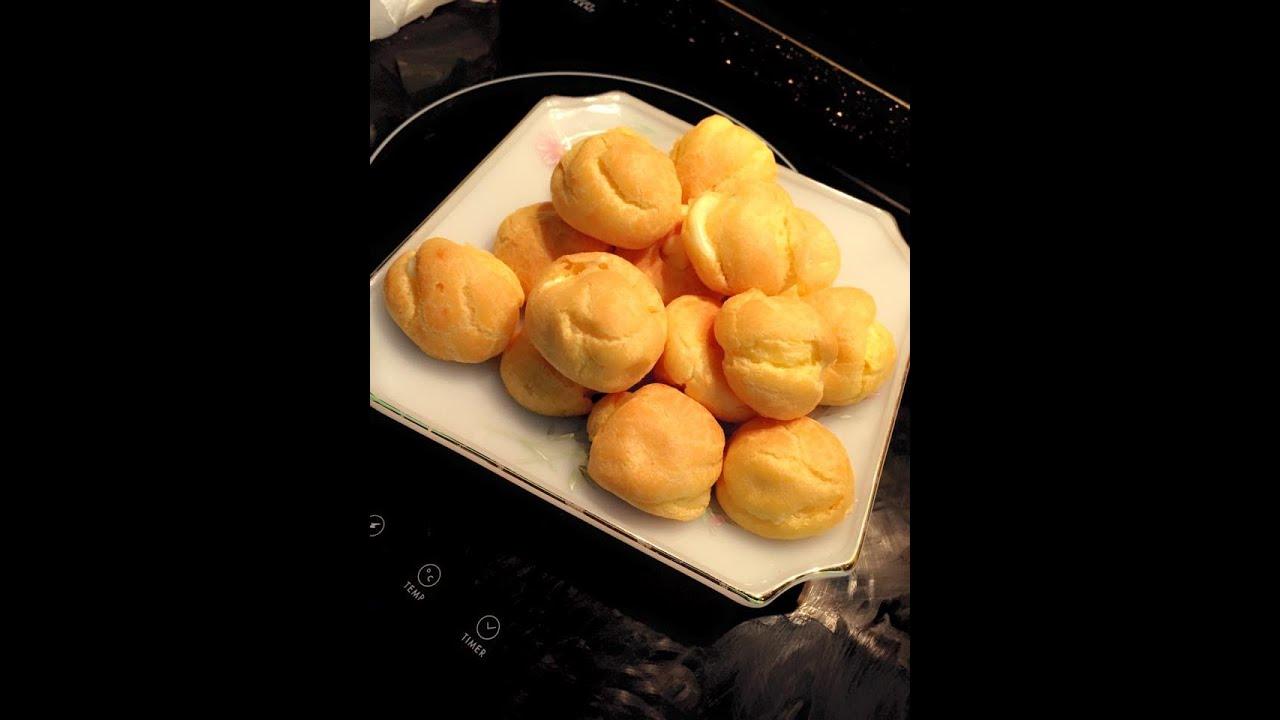 Hướng dẫn nấu ăn số 10: Bánh su kem (Choux à la Crème)