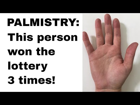 Palmistry and Winning the Lottory