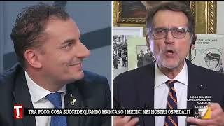A Tagadà scontro sulle parole di Borgonzoni fra il sindaco di Bologna Merola e il leghista Morrone