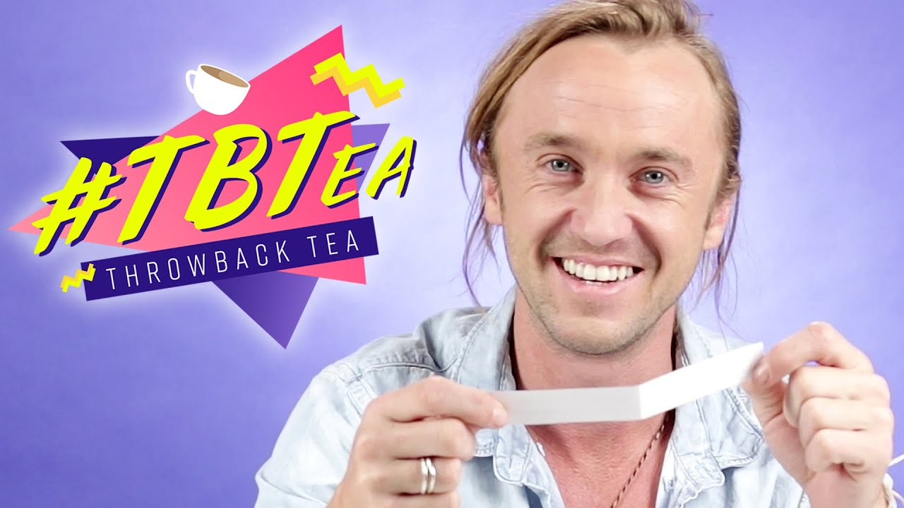 Tom Felton Spills The Tea On Harry Potter And More