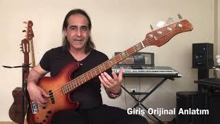 Barış Manço Gibi Gibi Bas Gitar Şarkı İnceleme Bass Cover