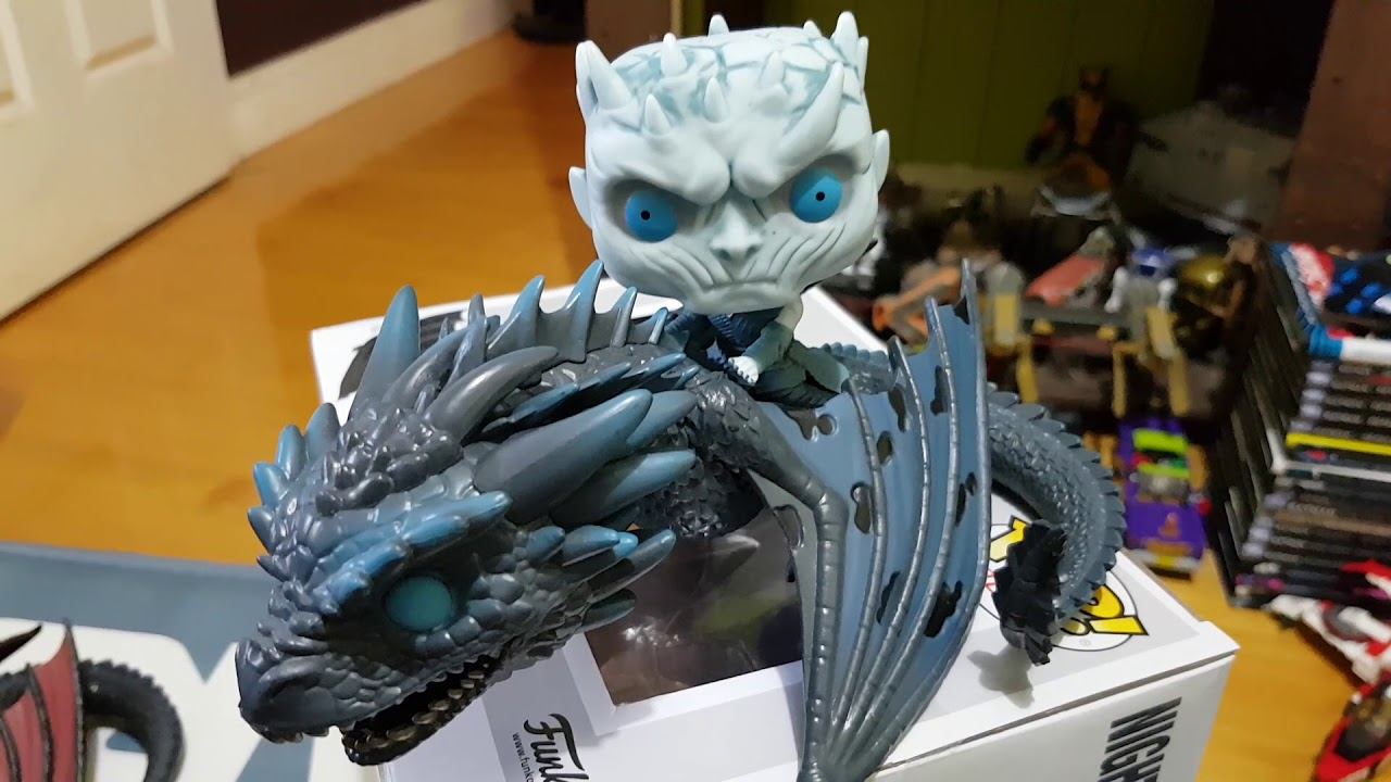 Funko Pop Game Of Thrones Drogon Rhaegal y Viserion Limited Chase