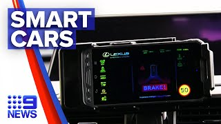 First look into Australia's smartest car | 9 News Australia