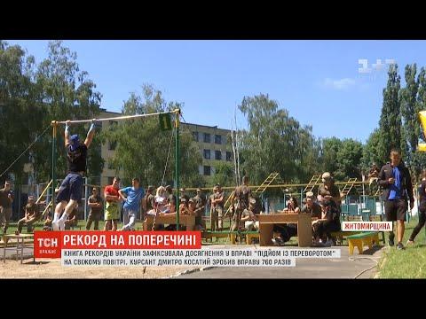ТСН: В Україні зареєстровано новий рекорд - 760 підйомів із переворотом