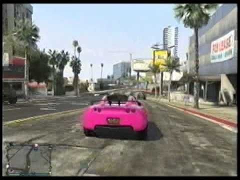 Gta Fast Electric Car Youtube
