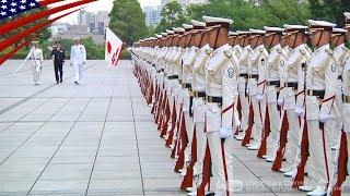 新任の米インド太平洋軍司令官の東京訪問 - 栄誉礼/安倍首相・小野寺大臣表敬
