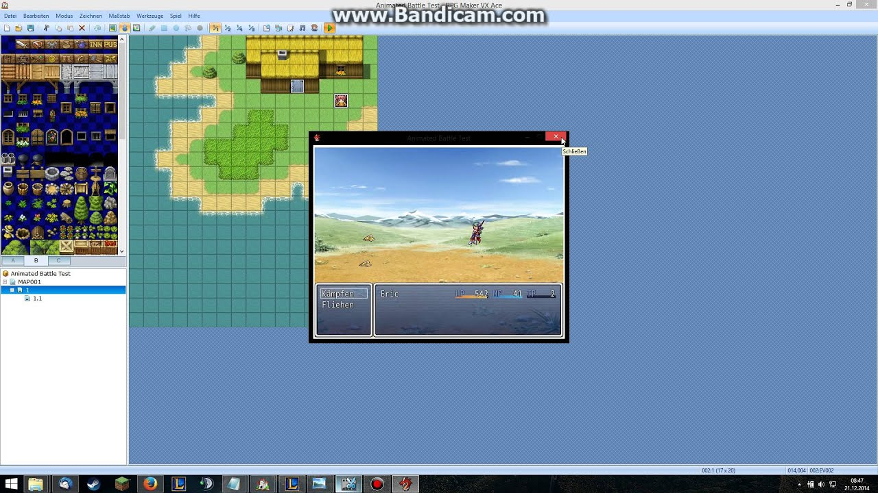 RPG Maker VX Ace - Animated Battles - Skill Creation & Sprite Sheet  Modification/Change - Part 2 by ScarOfTheDeceiver