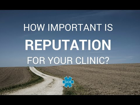 How important is Reputation for your clinic?