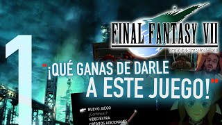 Final Fantasy VII (PS4) #1: Hola Soldado [WALKTHROUGH / SERIE EN ESPAÑOL]