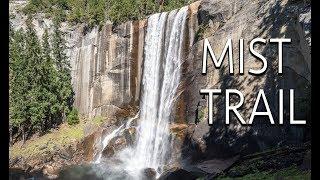 Mist Trail Hike, Yosemite