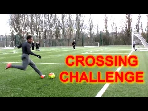 Thumbnail: CROSSING CHALLENGE!!!!