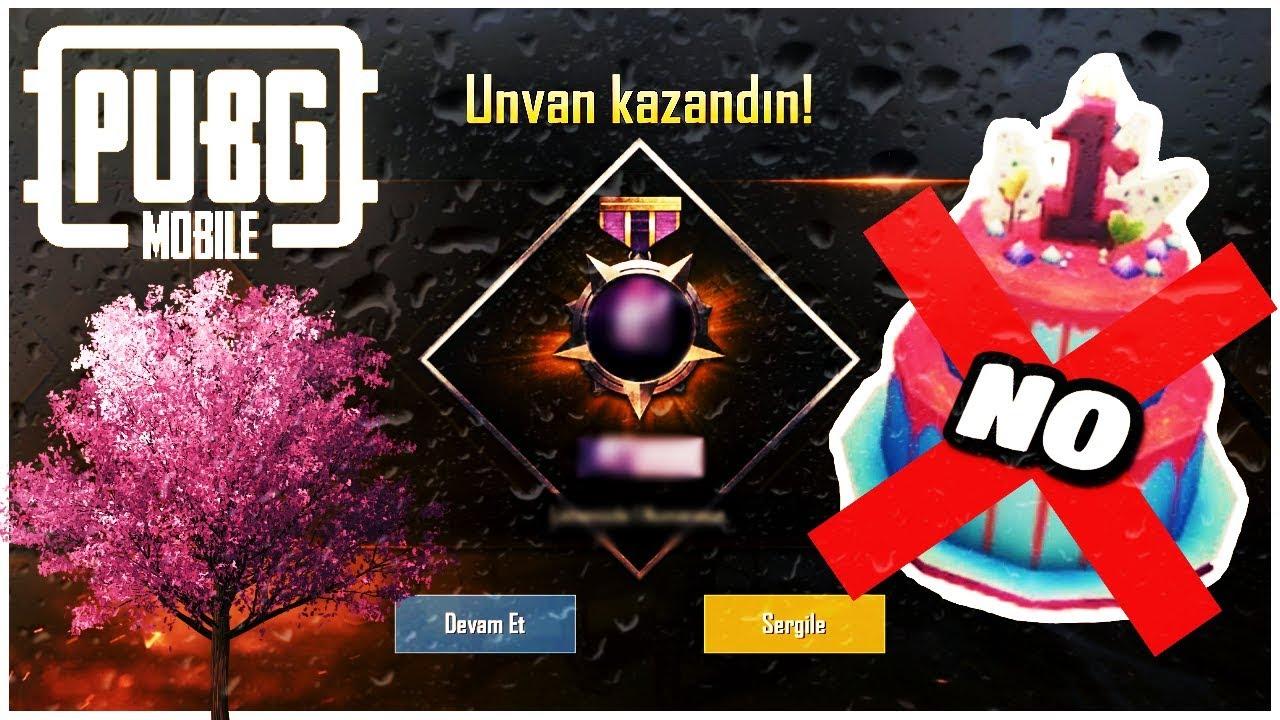 BU UNVANI ALMAYAN KALMASIN - Pubg Mobile Kiraz Ağacı (New Title #1/100)