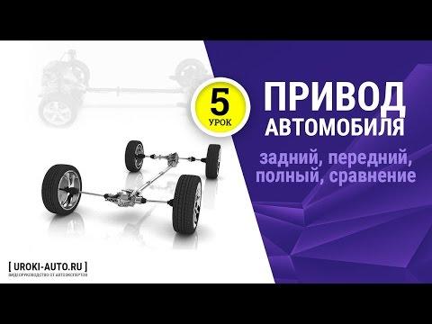 видео: Урок 5 - типы виды привода автомобиля, задний привод, передний привод, полный привод 4wd