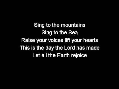 Sing to the mountains (with lyrics) trinity sunday