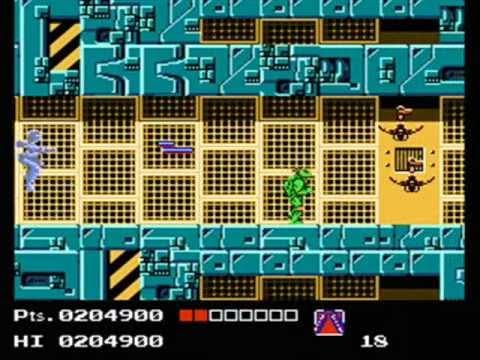 Teenage Mutant Ninja Turtles 1 NES - Technodrome/Shredder No Scroll Weapon