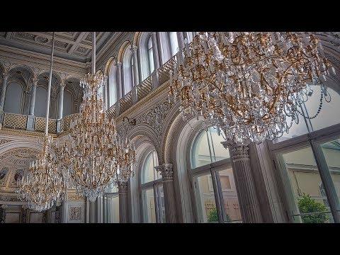 люстры хрустальные франция - YouTube
