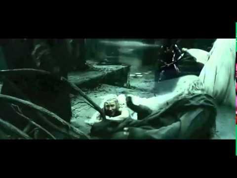 Elrond, Saruman y Galadriel v los Nazgûl y Sauron - El Hobbit: La batalla de los cinco ejércitos