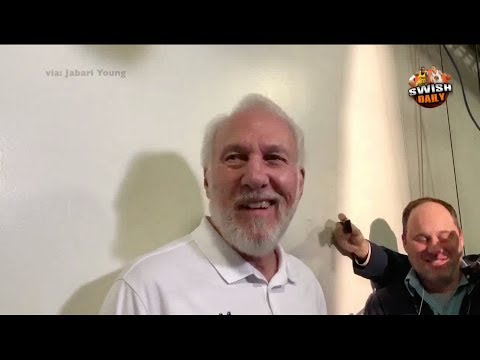 Gregg Popovich says they keep losing to the Warriors because Steve Kerr's son is a Spy !