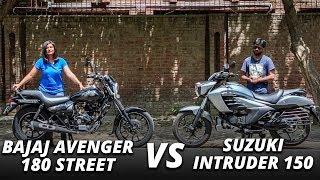 Bajaj Avenger 180 Street vs Suzuki Intruder 150 Comparison Review: Old School or the Modern Cool?