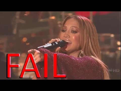 Jennifer Lopez - Epic Vocal Fails & Lip Sync  High Notes  Live