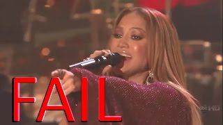 Jennifer Lopez - Epic Vocal Fails \u0026 Lip Sync \