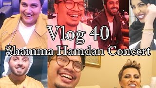 Vlog 40 - Shamma Hamdan Concert
