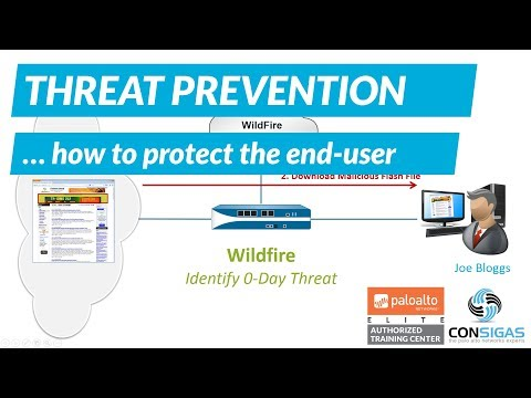 How to protect end-users - Palo Alto Networks FireWall Concepts Training Series